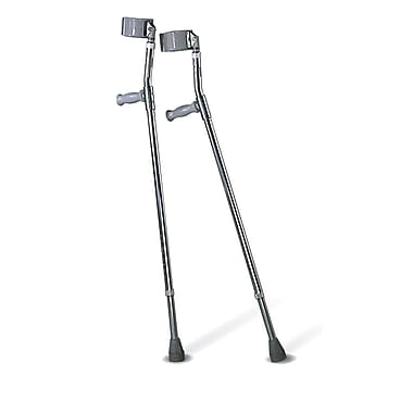 Medline Crutch XL Super Replacement Tip, Gray, 6/Pack