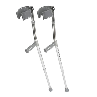 Medline Forearm Crutch, 5 ft to 6 ft 2