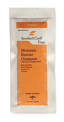 Soothe & Cool® Moisture Barrier Ointments, 5g, 144/Pack