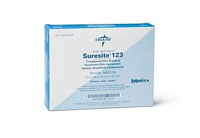 Suresite® 123 Transparent dressings, 4 4/5