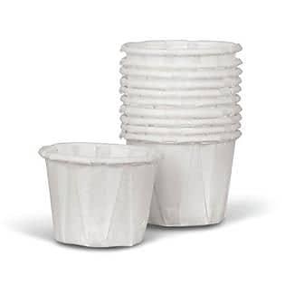 Medline Disposable Paper Souffle Cups, 1 oz, 5000/Pack