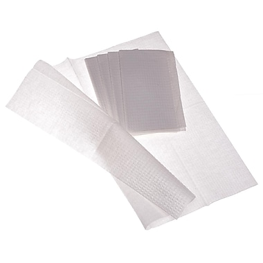 Medline NON24361 2-Ply Tissue / Poly Professional Towels, White