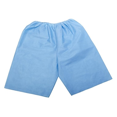Medline Disposable Exam Shorts, Medium