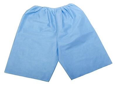 Medline Disposable Exam Shorts, Medium