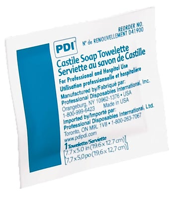 PDI® Castile Soap Towelettes, 1000/Pack