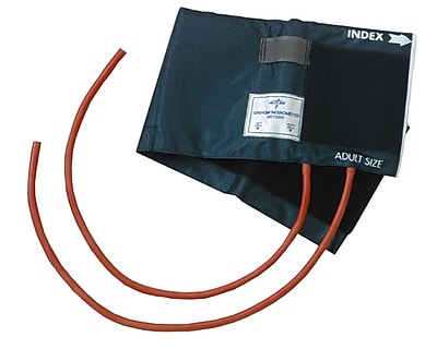 Medline Double Tube PVC Inflation Bags and Nylon Range Finder Cuffs, Thigh 8 1/2
