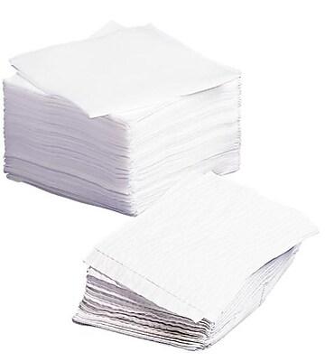 Medline Dry Disposable Washcloths, White, 13