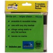 "Magic Whiteboard, 4"" x 4"", Film Magic Sticky Notes (MW1352)"