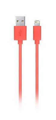 Urge Basics Apple-Certified 6.5 Ft Lightning Cable, Pink