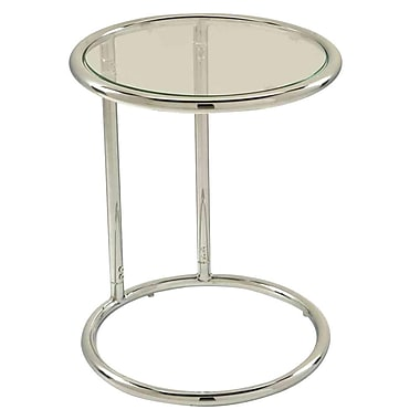 Office Star Products Chrome Accent Table, Chrome, Each (YLD14)