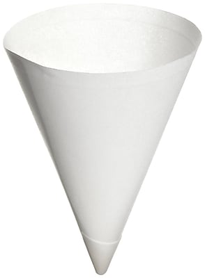 SOLO Bare Eco-Forward 156BB Cone Water Cup, White, 7 oz., 5000/Case 150282
