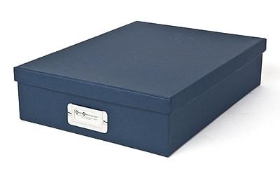 Bigso Oskar Letter Box Navy Blue