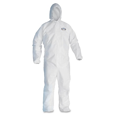 KleenGuard® A40 Liquid and Particle Protective Coverall W/Hood, White, 2X-Large