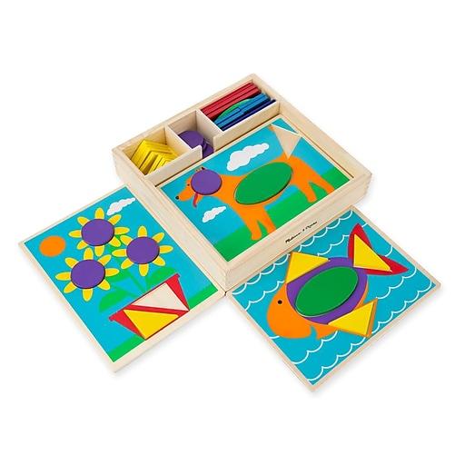 Melissa & Doug Beginner Pattern Blocks (528)