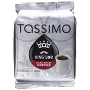 Tassimo® King of Joe® Dark Roast Coffee T-Discs, Dark Roast, 16/Box (05035)