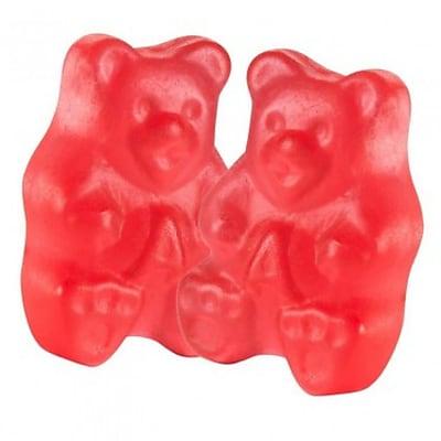 Fresh Strawberry Gummi Bears; 5 lb. Bulk