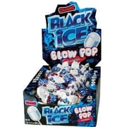 Black Ice Blow Pops, 48 Lollipops/Box