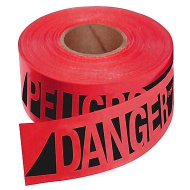 Empire® Caution Tape, 500'(L) x 3