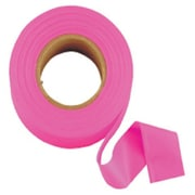 "Empire® 77 1""(W) x 200yd(L) Flagging Tape, Fluorescent Glo-Pink"