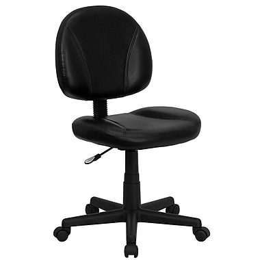 Flash Furniture LeatherSoft Leather Computer and Desk Office Chair ...