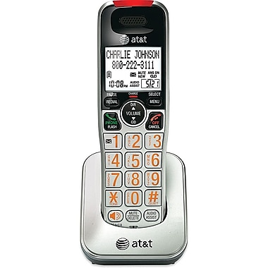 AT&T CRL30102 Accessory Handset, Silver/Black
