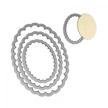 Sizzix® Framelits Die Set, Ovals, Scallop