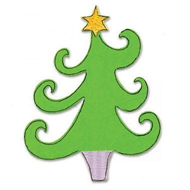 Sizzix® Bigz Die, Christmas Tree w/Star
