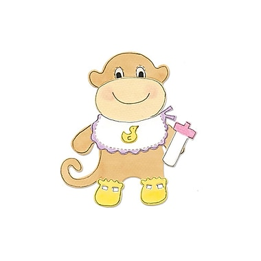 Sizzix® Bigz Die, Animal Dress Ups Monkey