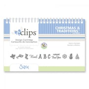 Sizzix® eclips Cartridge, Christmas & Traditions Alphabet