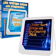 "Trademark Home 72-GT125W 8.75"" x 7.88"" ""LED writing Message"" Board"