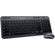 Logitech MK360 Wireless Compact Keyboard and Optical Mouse Combo (920-003376)