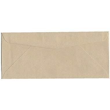 JAM Paper® #10 Business Envelopes, 4 1/8 x 9 1/2, Sandstone Ivory Recycled, 25/pack (71037)