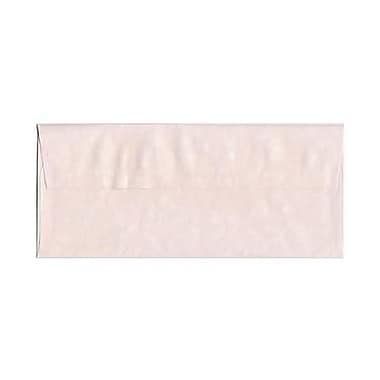 JAM Paper® #10 Business Envelopes, 4 1/8 x 9 1/2, Parchment Pink Recycled, 25/pack (V01728)
