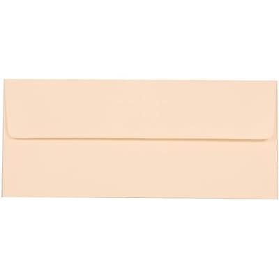 JAM Paper® #10 Business Envelopes, 4 1/8 x 9 1/2, Strathmore Natural White Wove, 25/pack (34992)