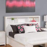 Prepac – Tête de lit Calla pour lit deux places/grand lit, blanc