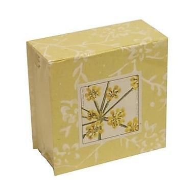 JAM Paper® Paper Pads, 4 x 4 Cube, Yellow, Sold Individually (2191815325)