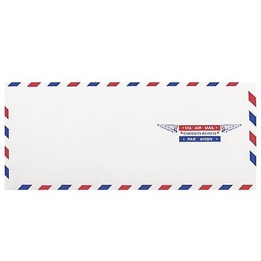 JAM Paper® Airmail #10 Envelopes, 4 1/8 x 9 1/2, 100/pack (A35532C)