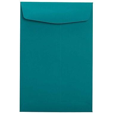 LUX 9 x 12 Open End Envelopes 50/Box, Teal (EX4894-25-50)