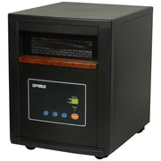 Optimus H-8012 1500 W Infrared Zone Heating System With Remote, Black