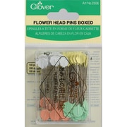 "Clover Flower Head Pins 2"", 100/Pack"