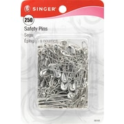 Singer Safety Pins, Assorted Sizes, 250/Pack