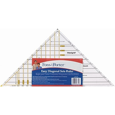 Fons & Porter Easy Diagonal Sets Ruler-3