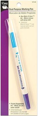Dual Purpose Marking Pen, Blue & Purple