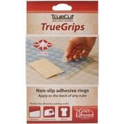 TrueCut Non Slip Ruler Grips, Transparent, 15/Pkg
