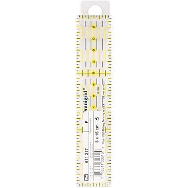 Omnigrid Metric Quilter's Ruler, 3cm X 15cm
