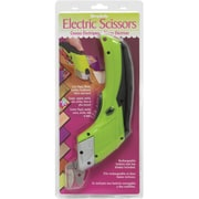 "Wrights 81740001 Sharp Tip 11.5"" Electric Scissors, Lime Green"