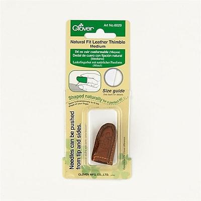 Natural Fit Leather Thimble Medium