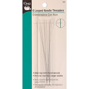 Looped Needle Threader, 6/Pkg
