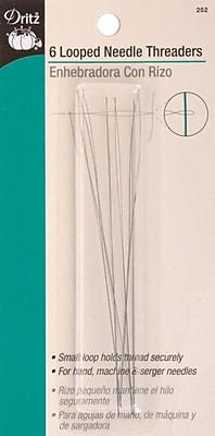 Looped Needle Threader, 6/Pkg
