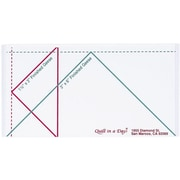 Quilt In A Day Flying Geese Ruler, Small